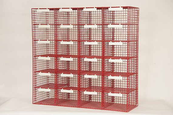 R Style - 4 Column Mailsorting unit with 24 Sorting Compartments