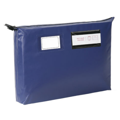 Gussetted Mailing Pouches - Long Edge Zip - Heavyweight - 470 x 336 x 76mm