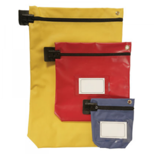Security Bags - Cash Bag - Long Edge Zip - 178 x 152 x 50mm
