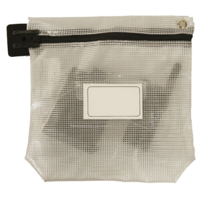Security Bags - Cash Bag - Long Edge Zip - See Through