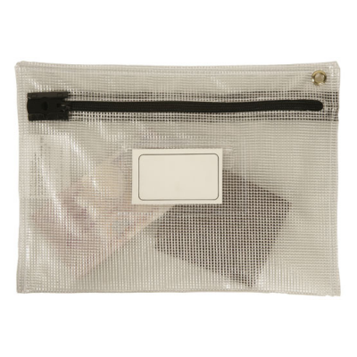 Security Bags - Flat Bag - Long Edge Zip - See Through