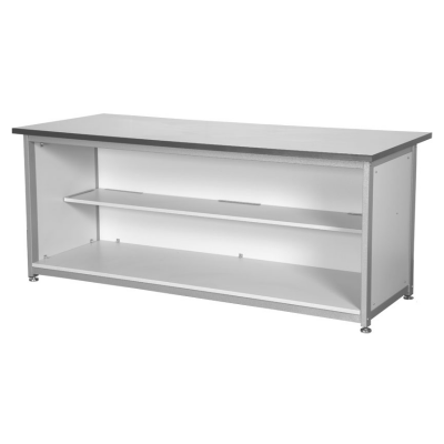 Silver Open Cupboard