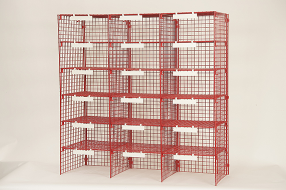 SA Style - 3 Column Mailsorting unit with 18 Sorting Compartment