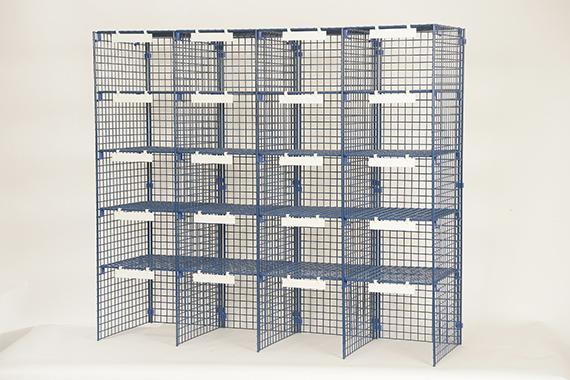 SA Style - 4 Column Mailsorting unit with 24 Sorting Compartment