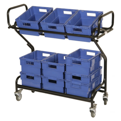 Mail Tray Trolley