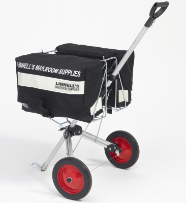 2 Satchel Mail Delivery Trolley