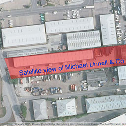 Satellite View of Michael Linnell's